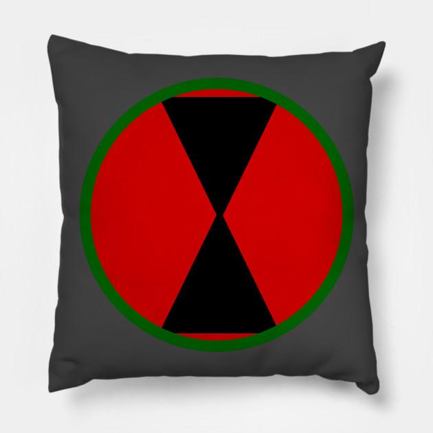 7th Infantry Division Logo Pillow 22ffaa2bd4e