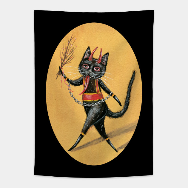 Krampus Black Cat