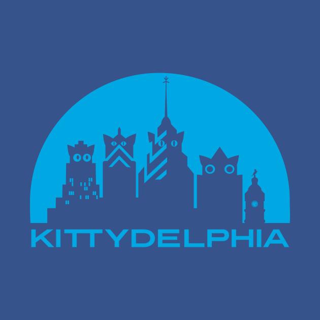 Kittydelphia Logo - blue sky