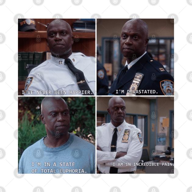 Captain Holt's Many Emotions