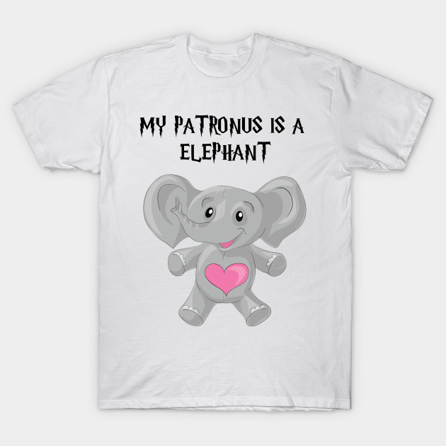 Patronus Elephant Lover Quotes T Shirt