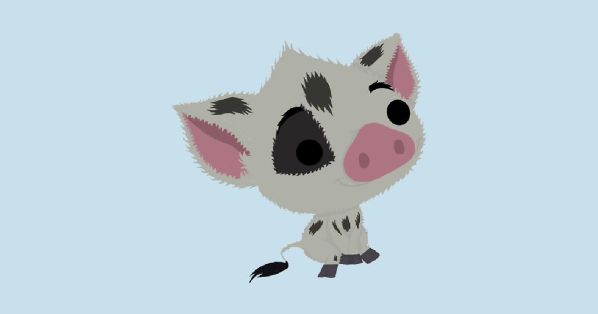 Pig Of The Sea Moana T Shirt Teepublic