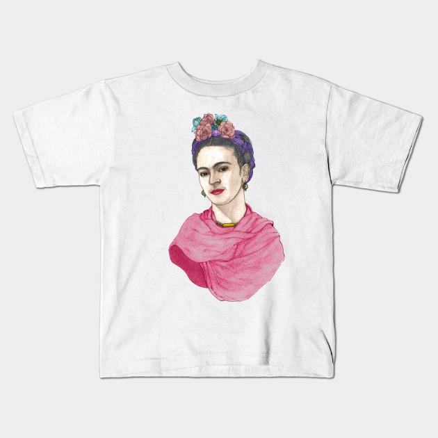 db4f4484 Frida Kahlo - Artsy - Kids T-Shirt | TeePublic