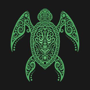 dd3aa120 Intricate Green Sea Turtle T-Shirt. by jeffbartels