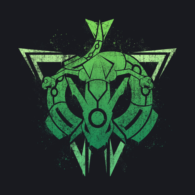 Team Rayquaza - Worn