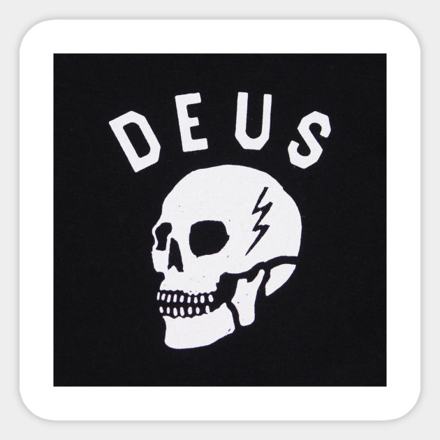 c522e975553ab Deus Ex Machina Logo - Deus Ex Machina Logo - Sticker