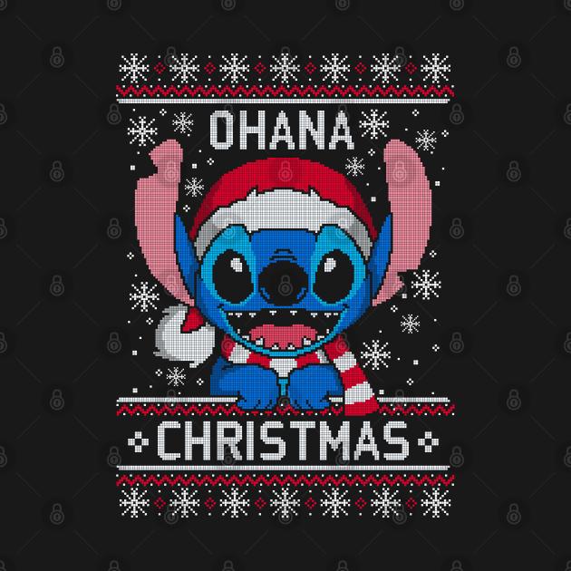 Ohana Christmas ugly sweater
