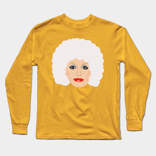 90cd0647fa0 Dolly Parton Portrait - Dolly Parton - Long Sleeve T-Shirt