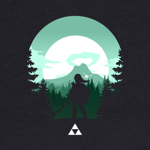 The Legend of Zelda - Journey to Death Mountain (Green)