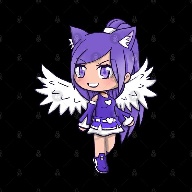 Flying Gacha Girl