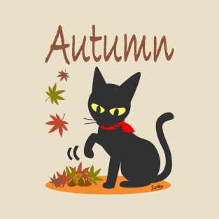 In the Autumn t-shirts