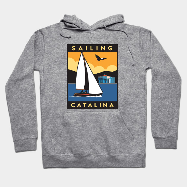 Catalina Sailboat Sweatshirt