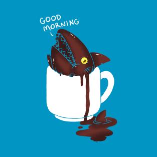 Coffee Shark t-shirts