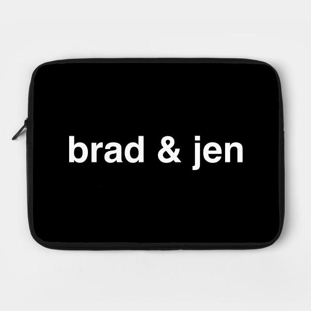 BRAD & JEN 2 WHITE TEXT
