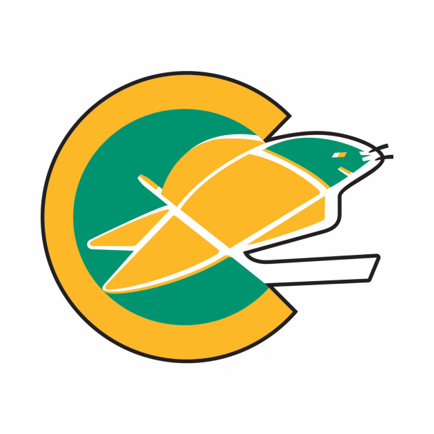 California Golden Seals Logo (Defunct)