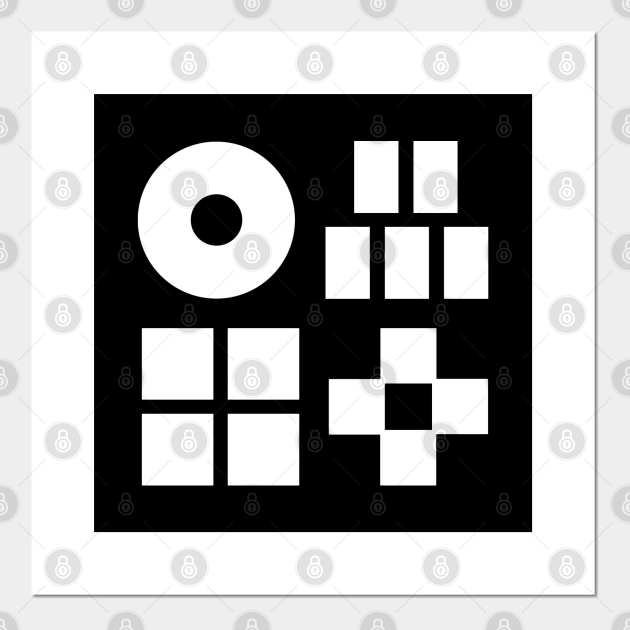MUSIC GAMES minimal BLACK