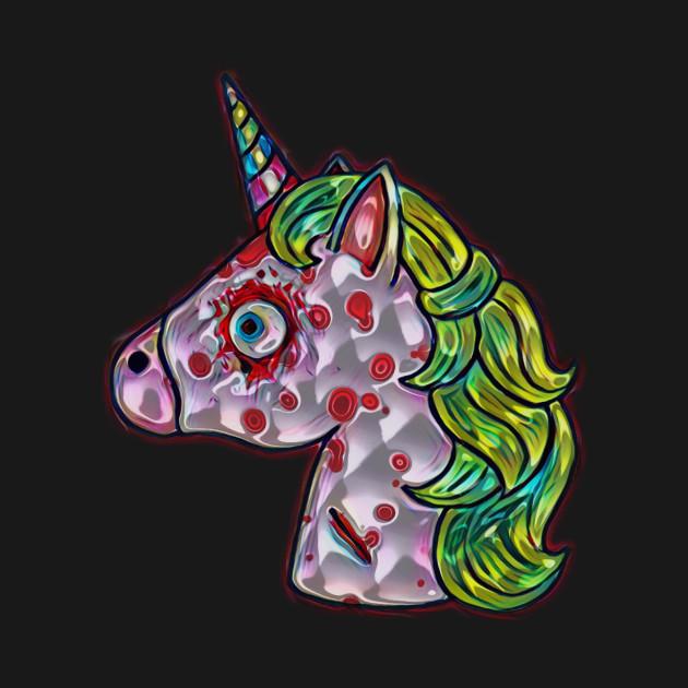 Evil Unicorn by XxEchelonReveusexX on DeviantArt