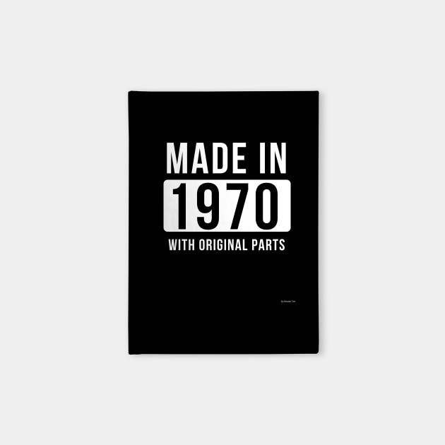 Made In 1970 Gift Idea 1970