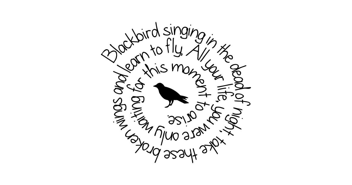 a7f88621c1 Blackbird Singing In The Dead Of Night T shirt - Blackbird - T-Shirt ...