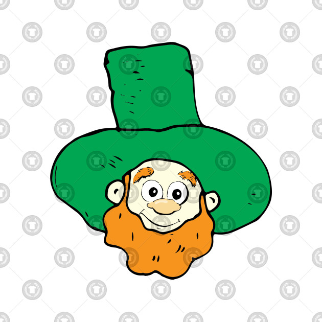 Abstract Leprechaun Design