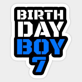 Birthday Boy 7 7th Tee Boys Shirts Years Old Shirt