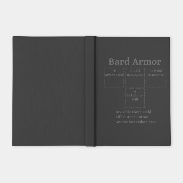 Bard Armor: Role Playing DND 5e Pathfinder RPG Tabletop RNG by rayrayray90