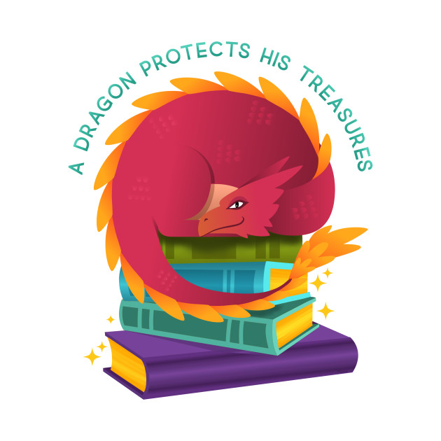 A Dragon Protects His Treasures (books)