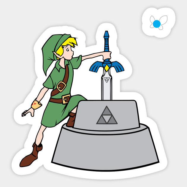 The master sword in the stone the master sword in the stone