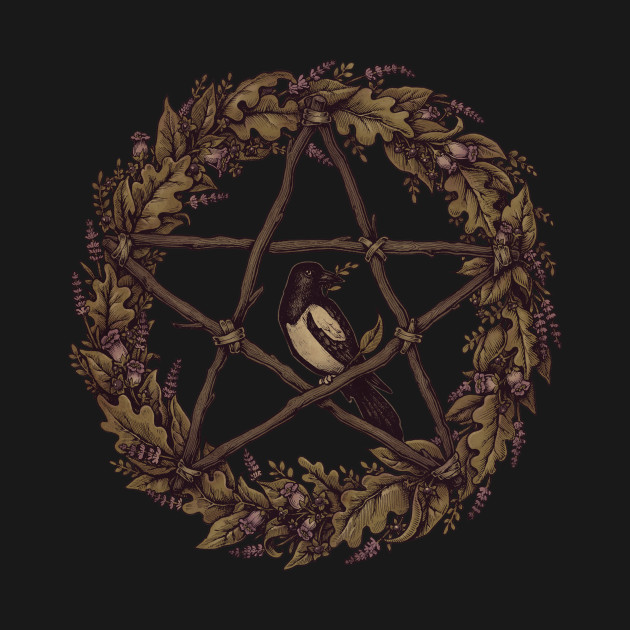 Pentacle Wreath: Wild Witch