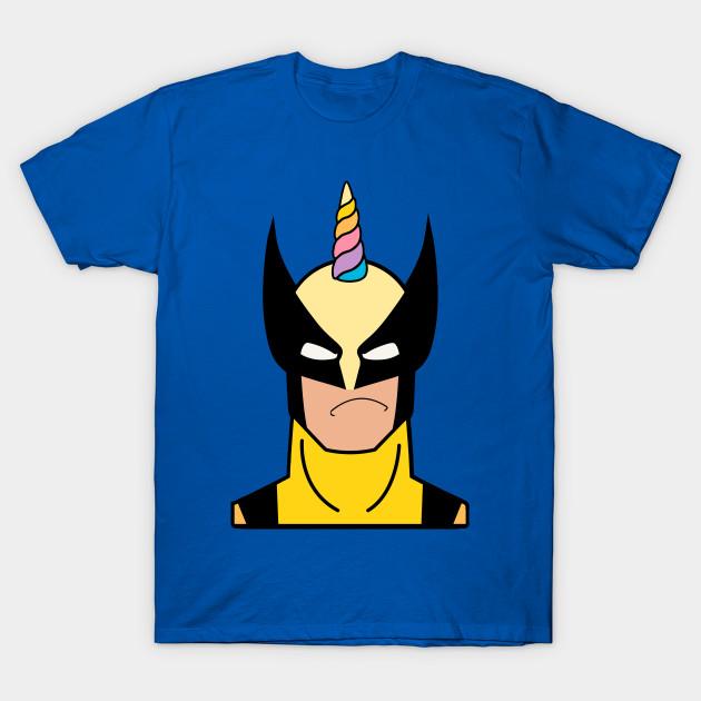 cd9ed586 NOT FUNNY - Wolverine - T-Shirt   TeePublic