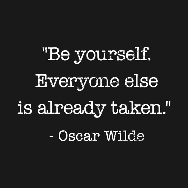 Inspirational Quote Oscar Wilde Be Yourself   Oscar Wilde Quote