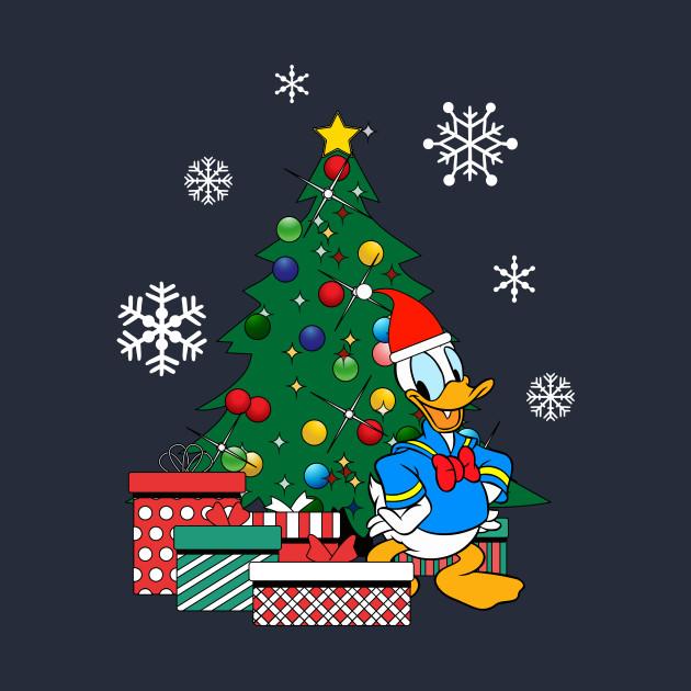 Donald Duck Christmas.Donald Duck Around The Christmas Tree By Nova5