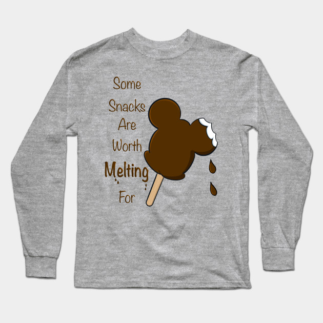 a8261ce54 Worth Melting For - Mickey Mouse - Long Sleeve T-Shirt | TeePublic
