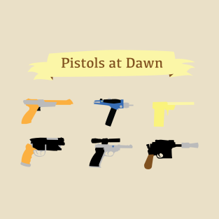 Pistols at Dawn t-shirts