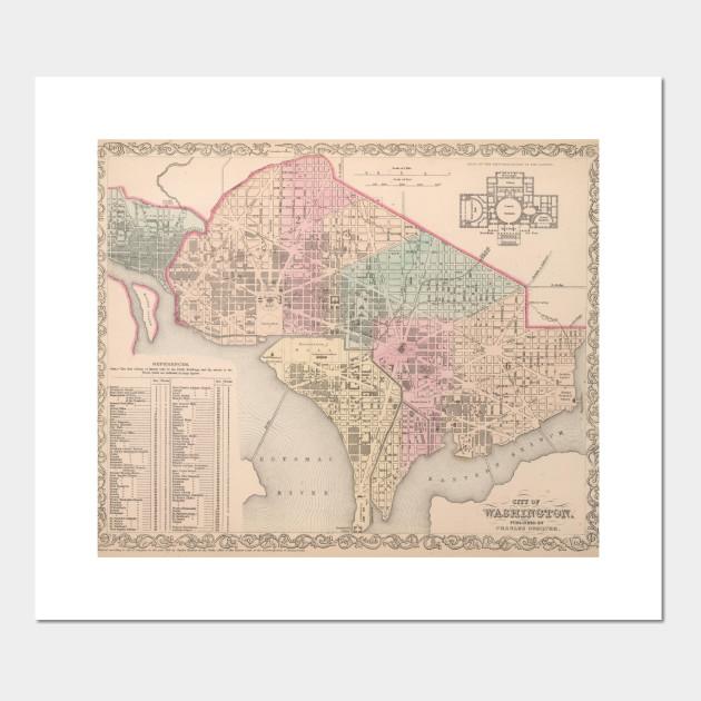 Vintage Map of Washington DC (1857) on austin map art, toronto map art, south dakota map art, sf map art, wv map art, idaho map art, tennessee map art, massachusetts map art, arkansas map art, virginia map art, colorado map art, new jersey map art, nebraska map art, az map art, wisconsin map art, baltimore map art, atlanta map art, mississippi map art, la map art, sc map art,