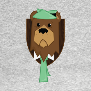 Smarter than your average mounted bear? T-Shirt