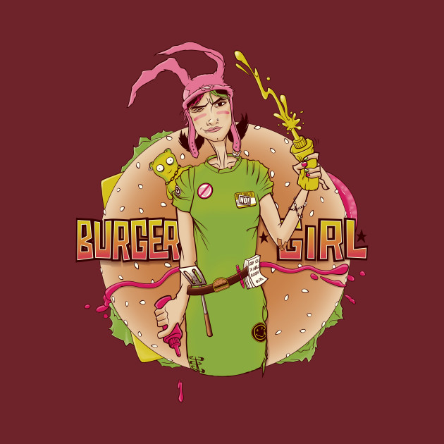 Louise - The Punk Rock Burger Girl