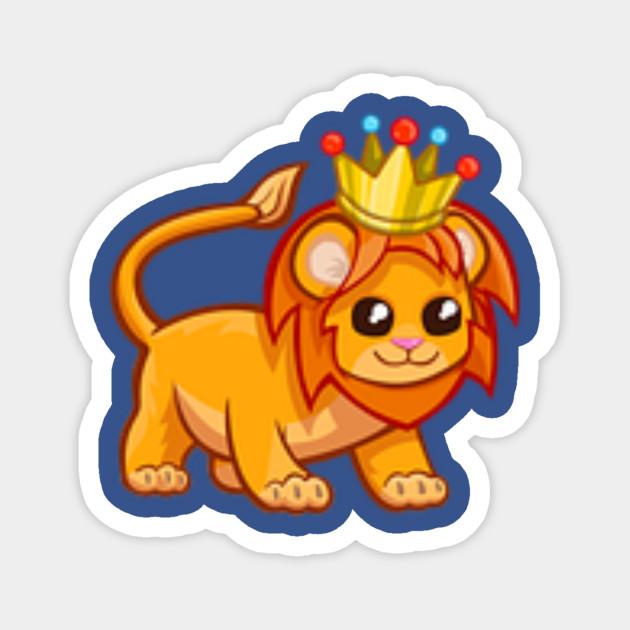 Adopt Me Pets Golden Lion With Crown Rare Pets Adopt Me Magnet Teepublic