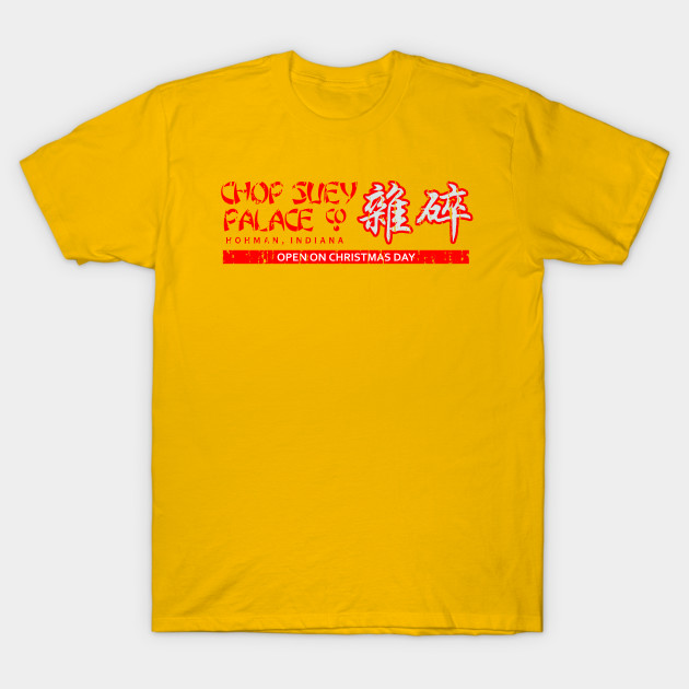 Christmas Story T Shirts.Chop Suey Palace From A Christmas Story