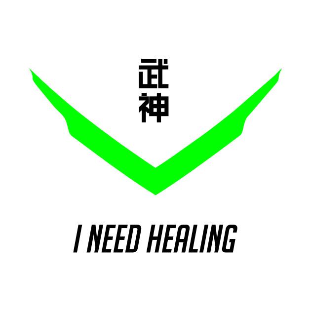 Genji I need healing overwatch