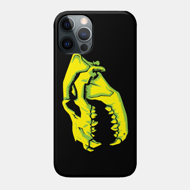 Toxic Hyena Skull