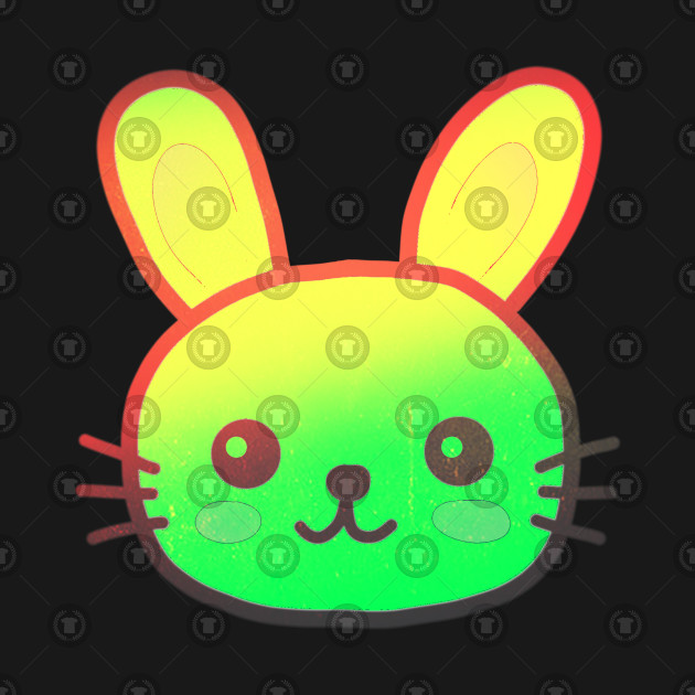 Colorful bunny Easter Bunny for easter  bunny
