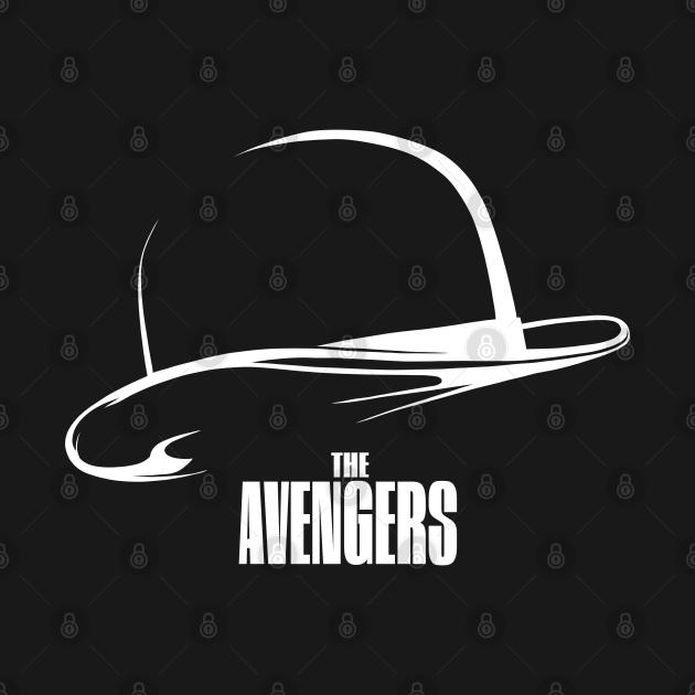 The Avengers uk tv series white