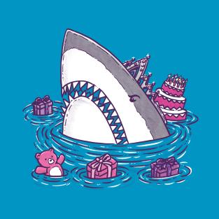Birthday Princess Shark t-shirts