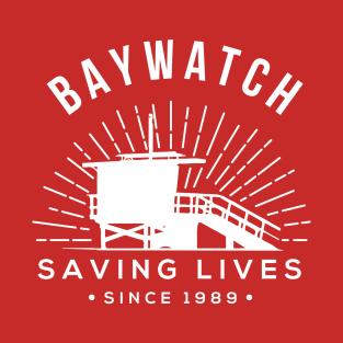 Baywatch Saving Lives Since 1989 t-shirts