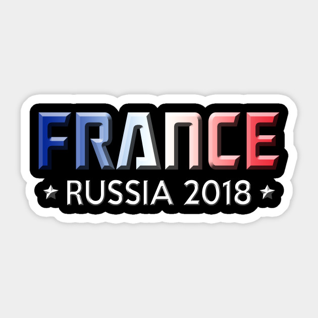 fdf1bf4c8 France Soccer Apparel Russia 2018 Football Team Fan - French France ...
