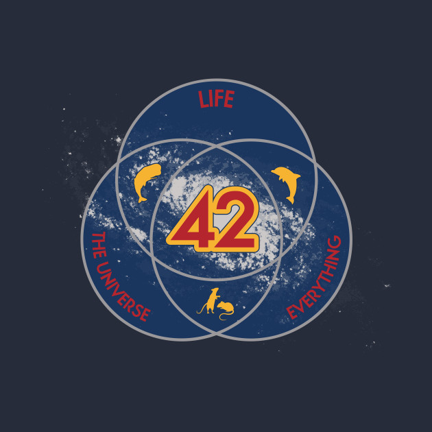 The Answer to Life, the Universe & Everything (Ultimate Venn Version)