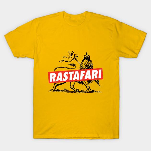 512bb0bdfd2 Rastafari - Lion of Judah - Reggae Shirt - Reggae - T-Shirt