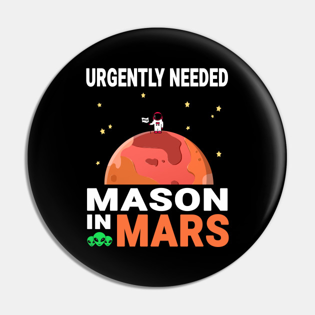 Mason Mars Lover Red Planet Design Quote