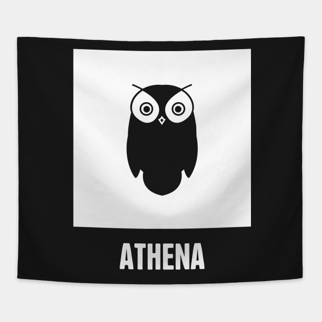 Athena Greek Mythology God Symbol Greek Mythology Tapestry